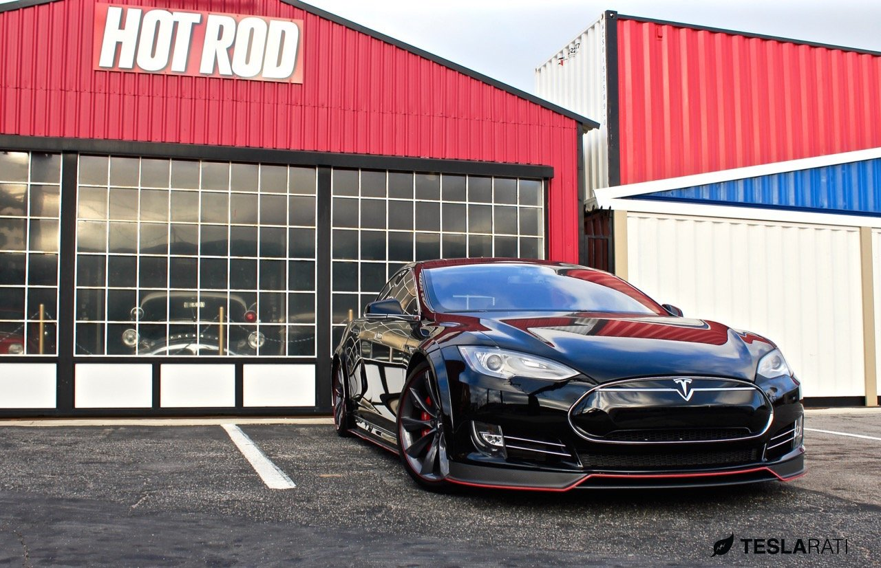Is this the first company to mod a Tesla ?