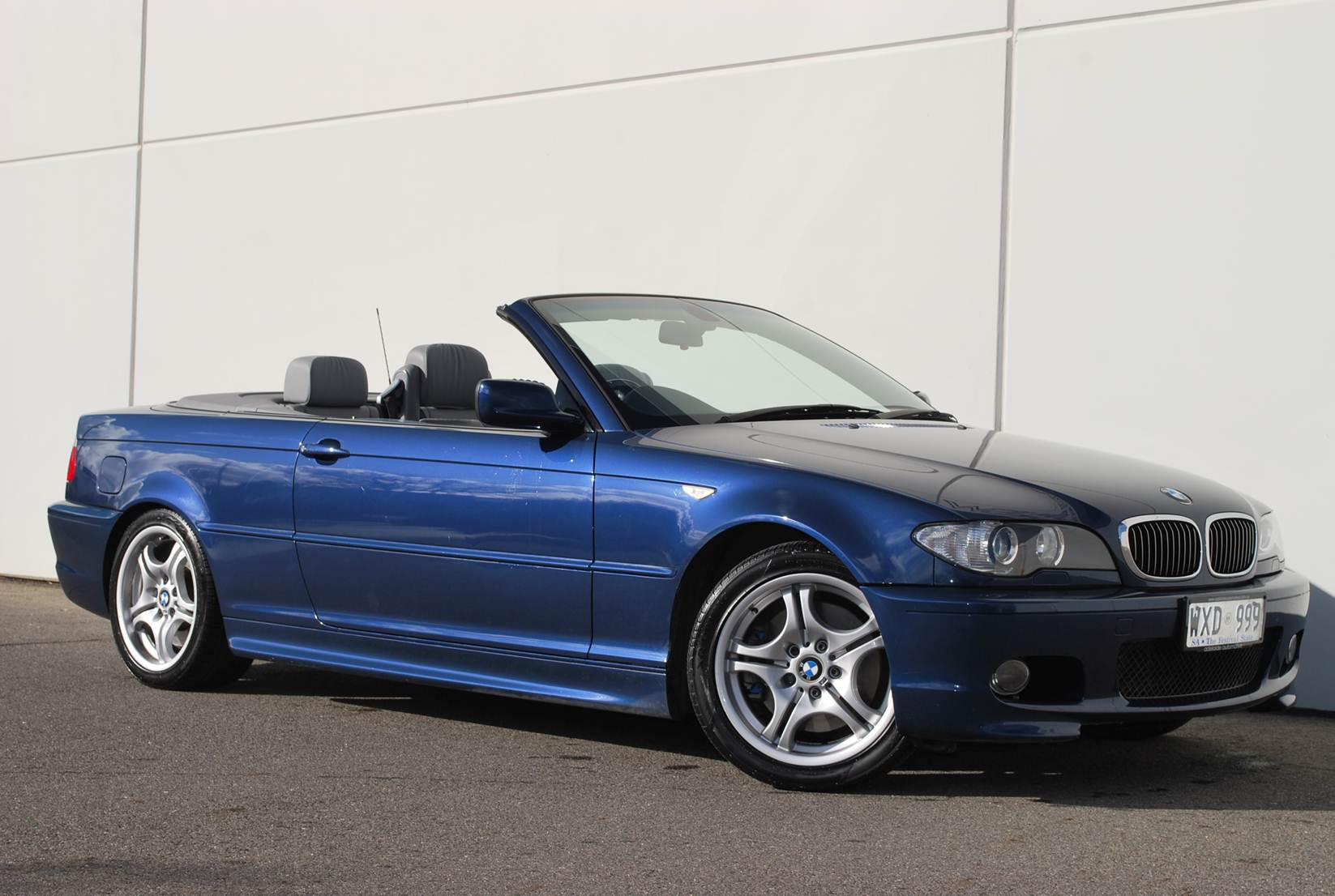 Our 2003 BMW E46 convertible is for sale