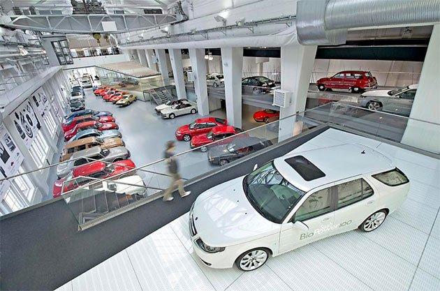 Saab Museum re-opens